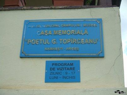 Casa memorială Topârceanu