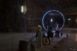Stargate și alte sculpturi în salină
