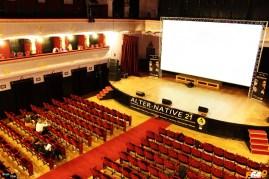 Sala de concerte (azi a găzduit un festival de film)