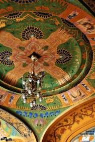 Detaliu de tavan de la parter