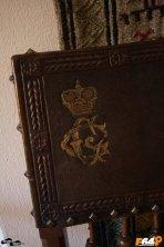 Coroana și monograma Grigore Cantacuzino