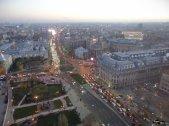 Cum se vede Bucureștiul de la etajul 21 din Intercontinental