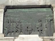 Basorelief cu scenă din război