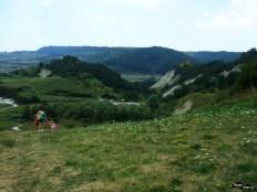 Cum se vede rezervația de la șoseaua spre Odorhei