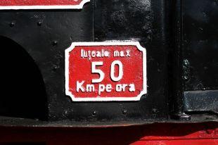Iuțeală maximă 50 km pe oră