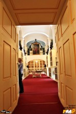 Intrarea în sala-muzeu a bibliotecii