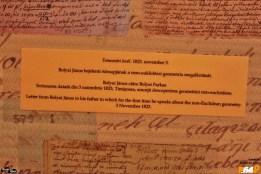 Scrisoarea trimisă de Janos Bolyai care anunța că a descoperit geometria neeuclidiană