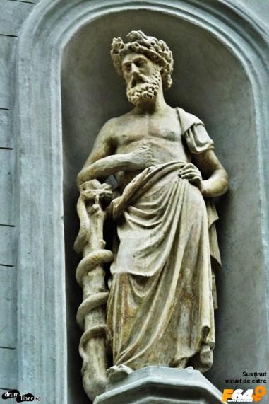 Esculap (Asclepios), zeul medicinei în mitologia greacă
