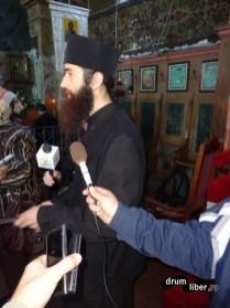 Interviu cu unul dintre călugări