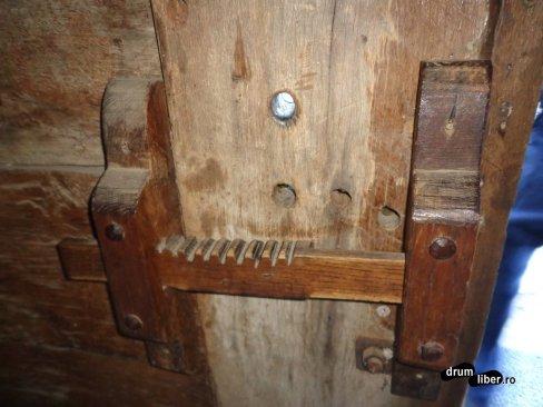 Încuietoarea vechii biserici de lemn din Gostila