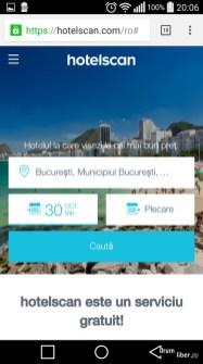 HotelScan - de încercat atunci când vă căutați cazare (site mobil aici)