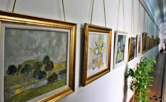 Picturi de pe holurile Palatului