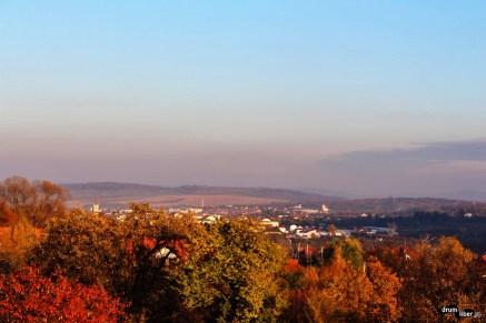 Vedere din Casa Elim din Cisnădioara