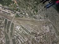 Poza orasului vazut de sus