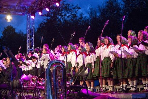 Concert la Drumul Lung spre Cimitirul Vesel 2014