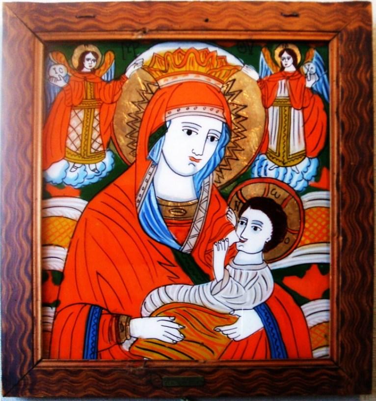 Iisus alăptat de Fecioara Maria