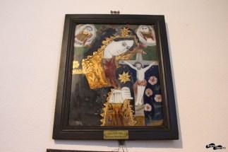 Icoană donată de Clementina Petre din București