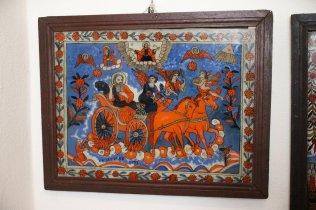 Sfântul Ilie și carul de foc