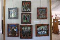 Icoane din Mărginimea Sibiului. Vedeți ramele pictate