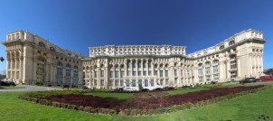 Casa Poporului, Palatul Parlamentului - panoramică spre Senat