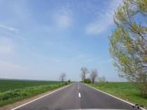 Drumuri perfect drepte în România
