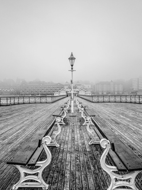 Misty Penarth Pier