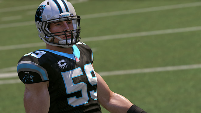 Madden 17 Player Portrait-Luke Kuechly
