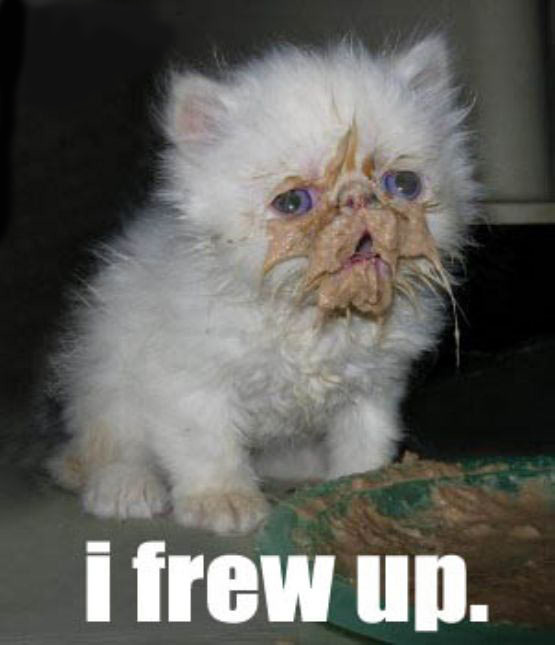 I Frew Up