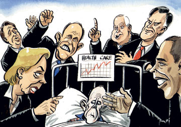 health care and the presidential race