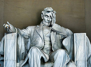 Lincoln, image by Derek Bacon for The Economist (2010)