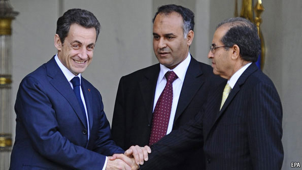 Sarkozy playing politics, power and greed?