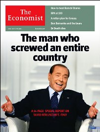The cover of this month's The Economist (June 2011, Europe edition).