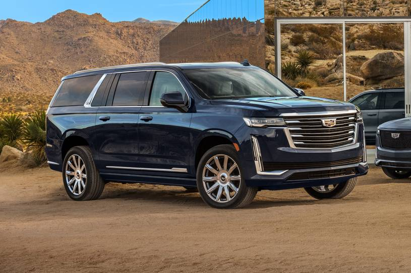 2021 Cadillac Escalade Esv Prices Reviews And Pictures Edmunds