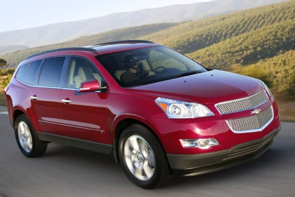 2009 Chevrolet Traverse First Drive