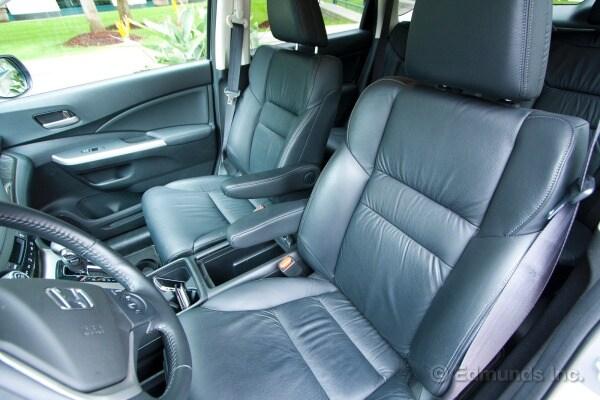 Captains Seats And Great Armrests 2012 Honda CR V Long