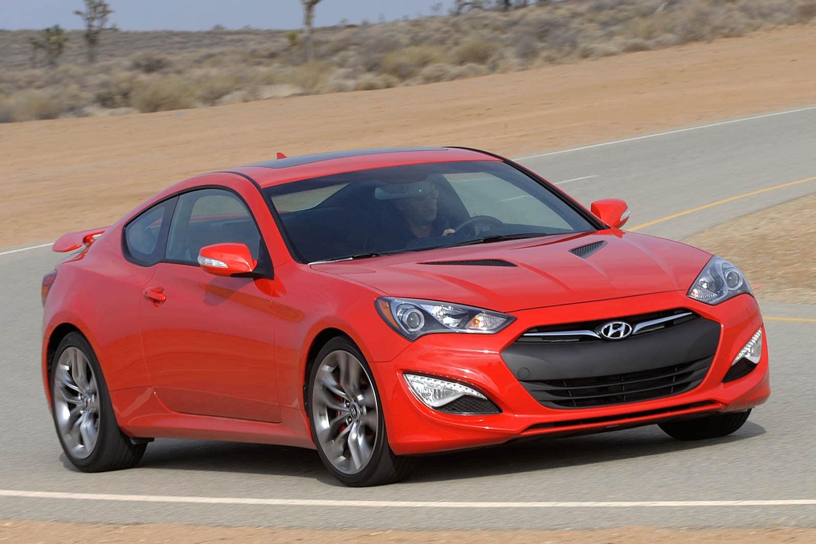 2014 Hyundai Genesis Coupe Review Ratings Edmunds
