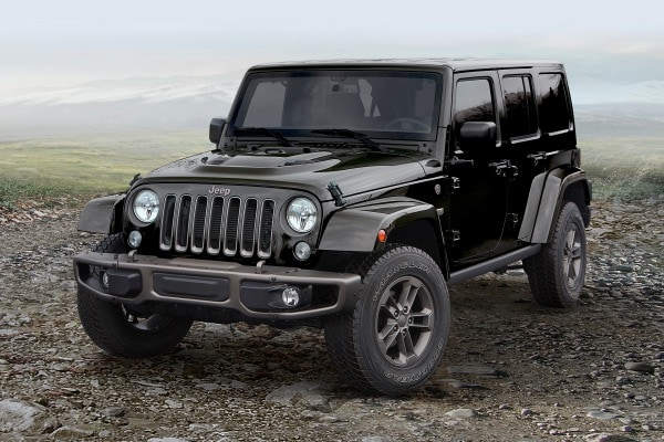 2017 Jeep Wrangler Unlimited 75th Anniversary Convertible SUV Exterior Shown