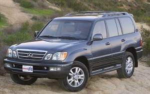Used 2003 Lexus LX 470 SUV Pricing & Features | Edmunds