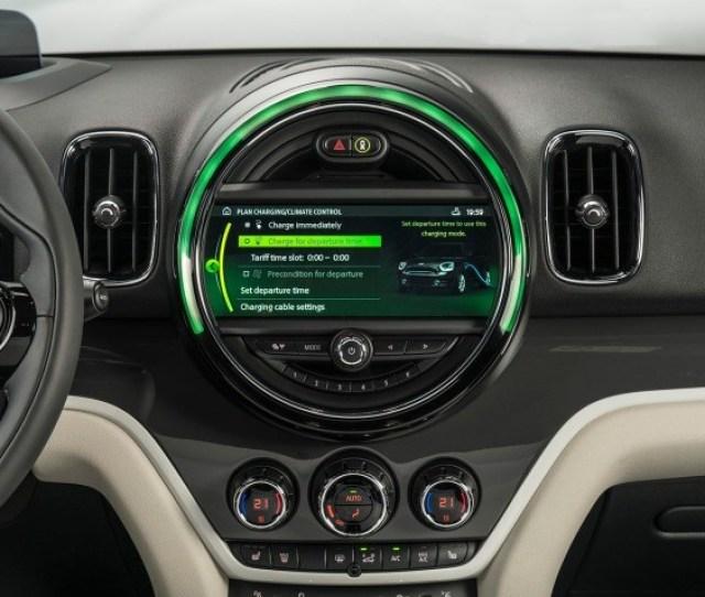 Mini Countryman Cooper S E Hybrid Center Console