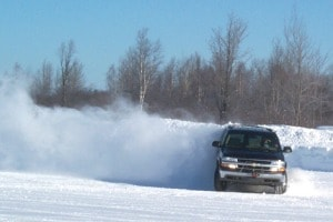 Chevy Suburban - Going Sideways