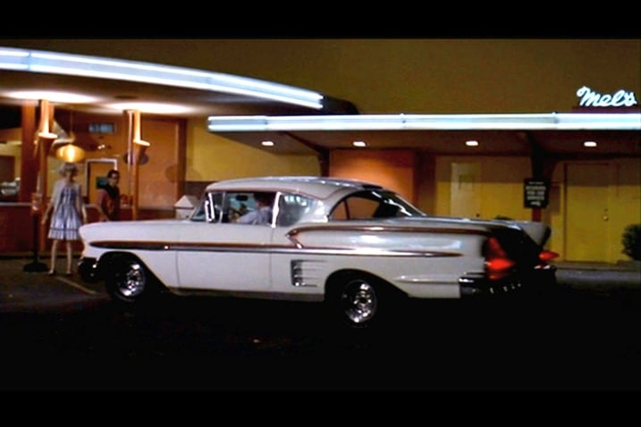 Real American Graffiti 1955 Chevy