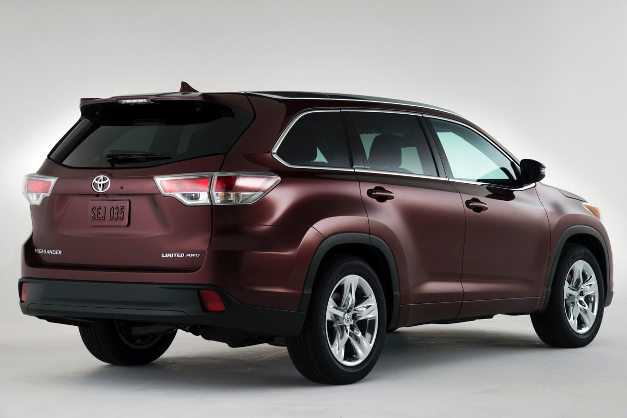 New 2014 Toyota Highlander Colors
