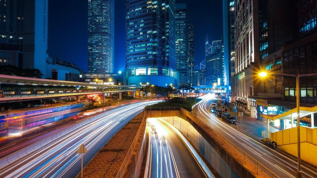 Digitalisering av städer.