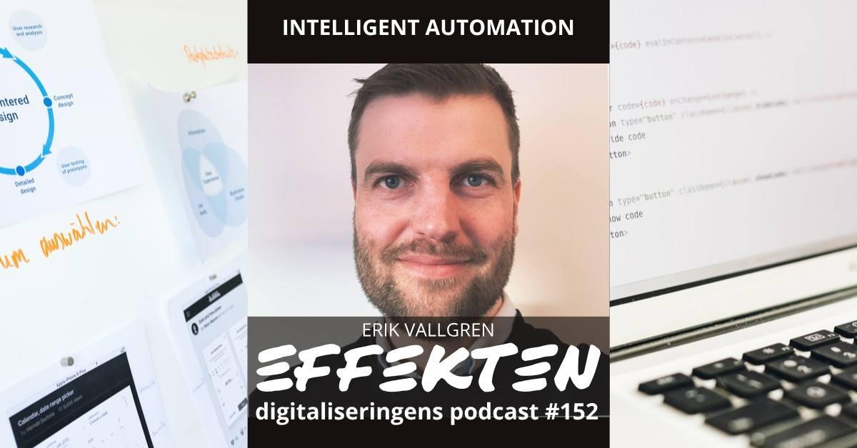 Intelligent automation. Erik Vallgren (#152)