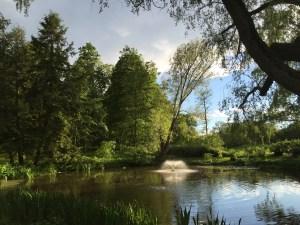 Lilliandammen och dess fontän