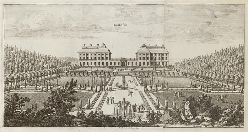 Erik Dahlberghs praktverk över stormaktstidens Sverige på 1600-talet