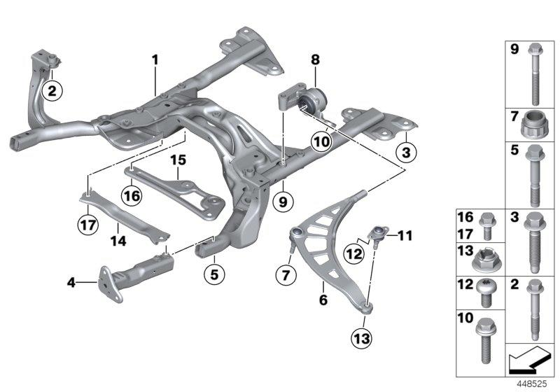 Mini Cooper Suspension Diagram