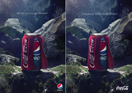 Meme Cocacola VS Pepsi