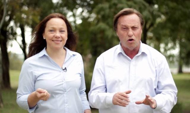 Otros tiempos: Etienot y Varisco, juntos en campaña electoral