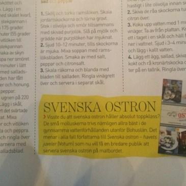 Kupé: Svenska Ostron